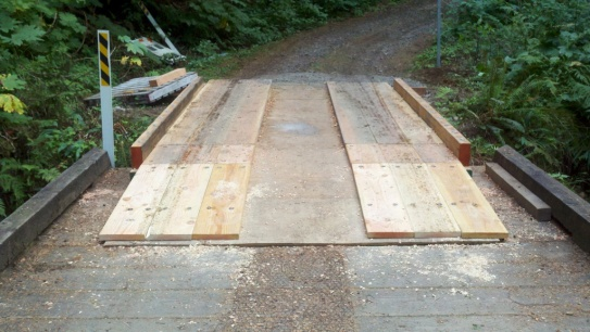 Completed Ramp